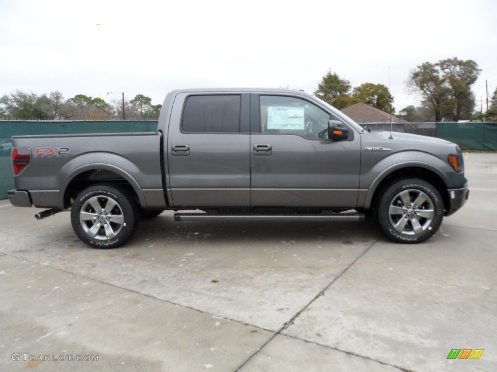2012 Ford F 150 Platinum Sterling Gray Metallic 2012 Ford F150 FX2 SuperCrew ...