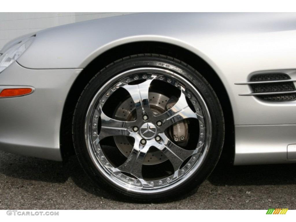 2003 mercedes benz sl 500 roadster custom wheels photo for Custom wheels for mercedes benz