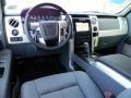 Steel Gray/Black 2011 Ford F150 Interiors
