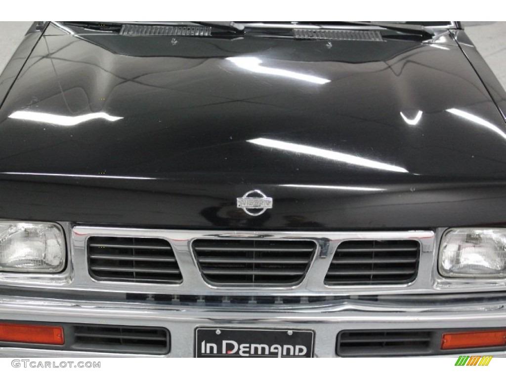1997 super black nissan hardbody truck xe regular cab 58555624 photo 9 car. Black Bedroom Furniture Sets. Home Design Ideas