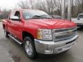 2012 Victory Red Chevrolet Silverado 1500 LT Crew Cab 4x4  photo #5