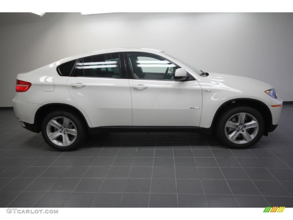 Alpine White 2012 Bmw X6 Xdrive35i Exterior Photo
