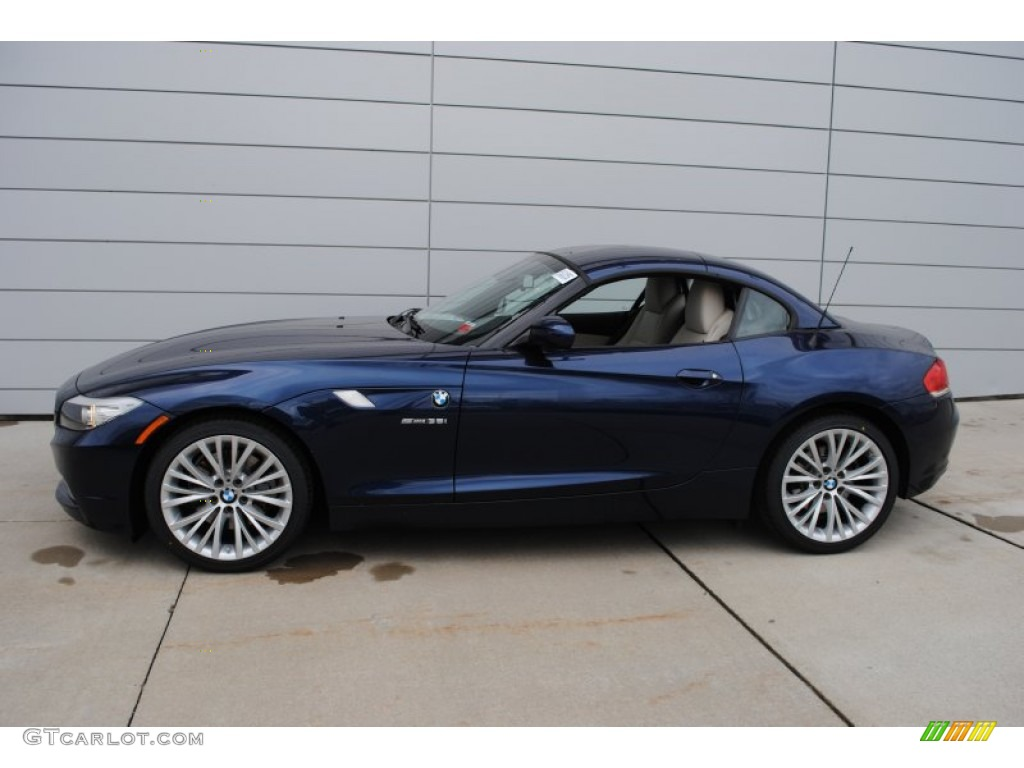 Deep Sea Blue Metallic 2009 Bmw Z4 Sdrive35i Roadster