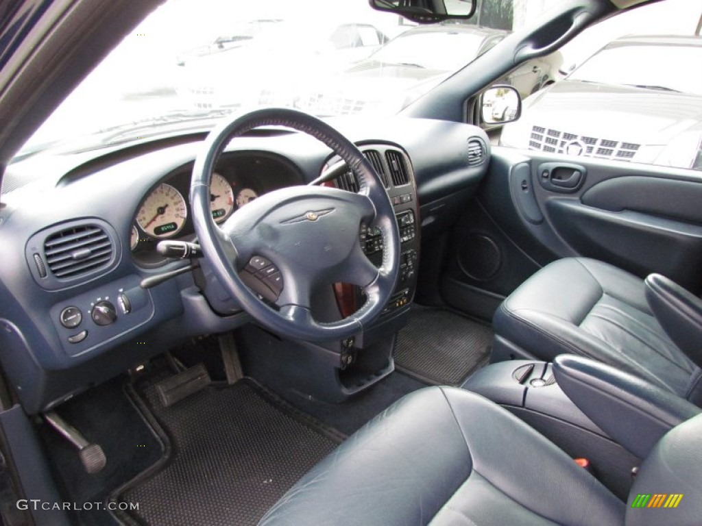 Navy blue interior 2003 chrysler town country lxi photo - 2001 chrysler town and country interior ...