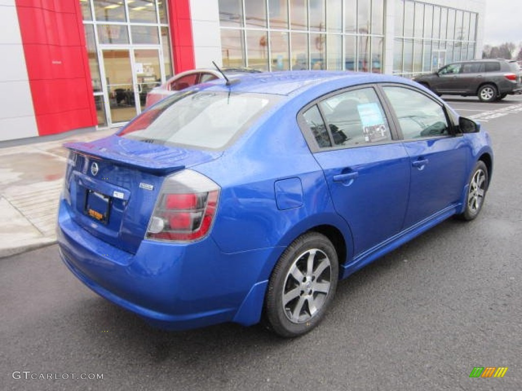 2012 metallic blue nissan sentra 2 0 sr special edition 58608335 photo 7 car. Black Bedroom Furniture Sets. Home Design Ideas