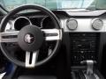 2007 Vista Blue Metallic Ford Mustang V6 Premium Coupe  photo #29