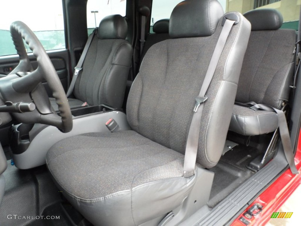 2000 Chevrolet Silverado 1500 Extended Cab Interior Color Photos