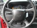 2000 Chevrolet Silverado 1500 Graphite Interior Steering Wheel Photo
