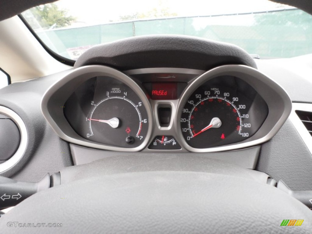 Ford Fiesta Sfe 2012 Ford Fiesta SE SFE Hatchback Gauges Photos | GTCarLot.com