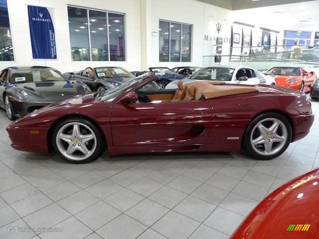 Rosso Barchetta 1999 Ferrari 355 Spider Exterior Photo