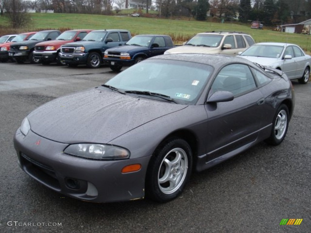 1997 Magenta Gray Pearl Mitsubishi Eclipse GS Coupe #58608050 Photo #10 | GTCarLot.com - Car ...