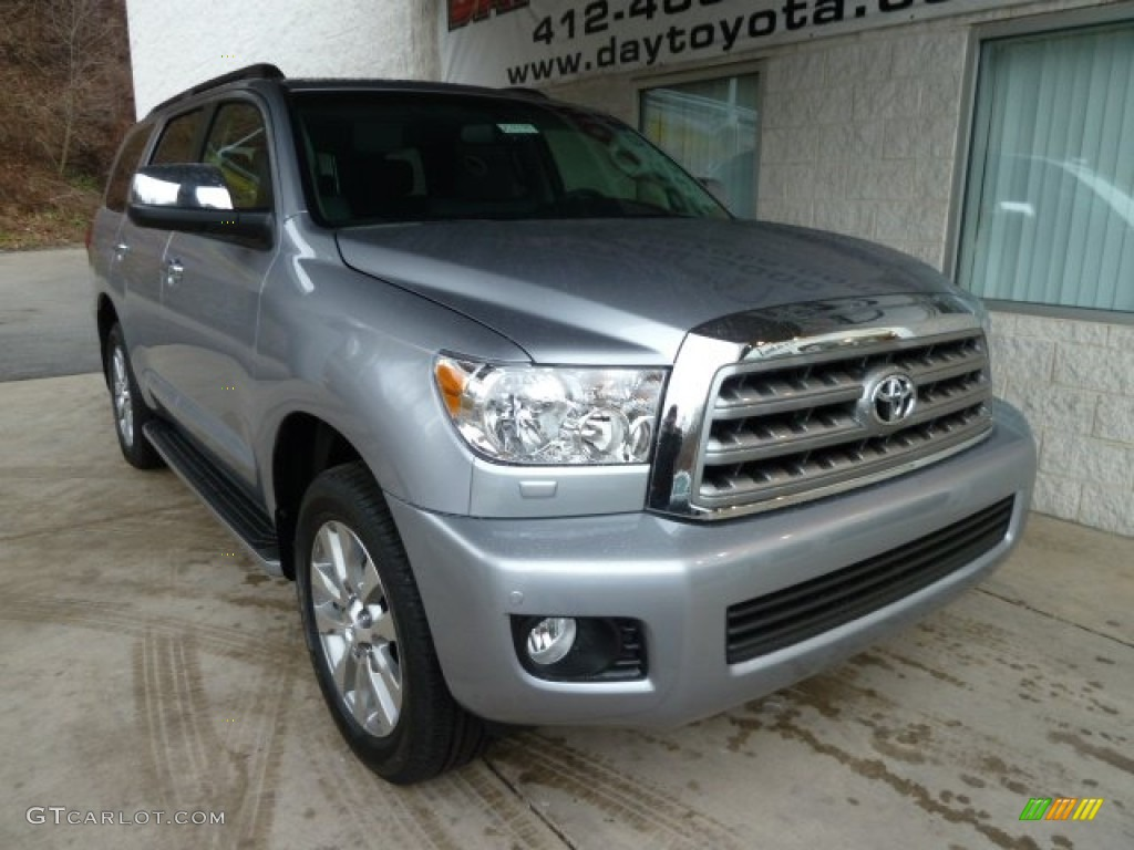 2012 silver sky metallic toyota sequoia limited 4wd. Black Bedroom Furniture Sets. Home Design Ideas