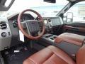 2012 Ford F250 Super Duty Chaparral Leather Interior Prime Interior Photo