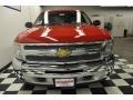 2012 Victory Red Chevrolet Silverado 1500 LT Crew Cab 4x4  photo #6