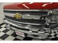 2012 Victory Red Chevrolet Silverado 1500 LT Crew Cab 4x4  photo #7