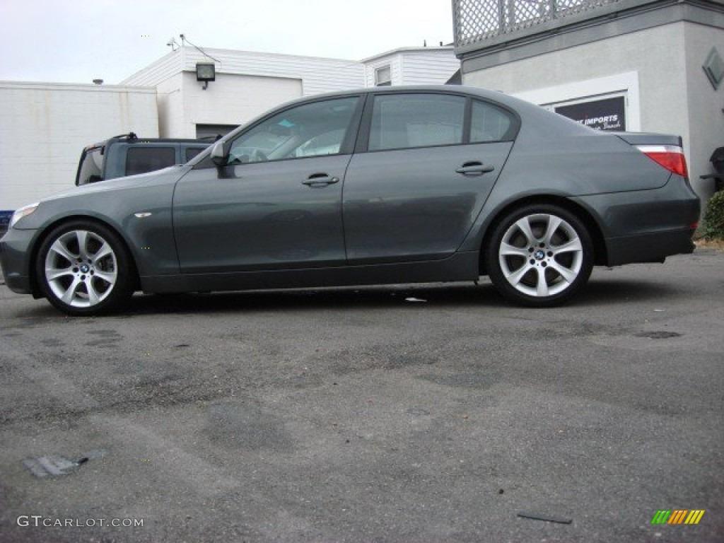 titanium grey metallic 2005 bmw 5 series 545i sedan exterior photo 58672652. Black Bedroom Furniture Sets. Home Design Ideas
