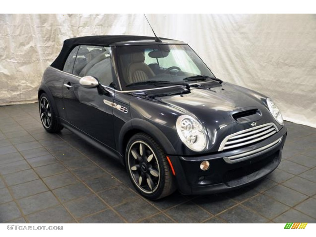 Astro Black Metallic 2007 Mini Cooper S Convertible