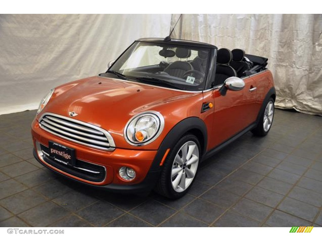 2011 spice orange metallic mini cooper convertible 58664183 car color galleries. Black Bedroom Furniture Sets. Home Design Ideas