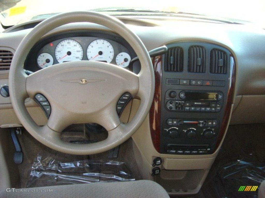 2001 chrysler town country lx sandstone dashboard photo - 2001 chrysler town and country interior ...