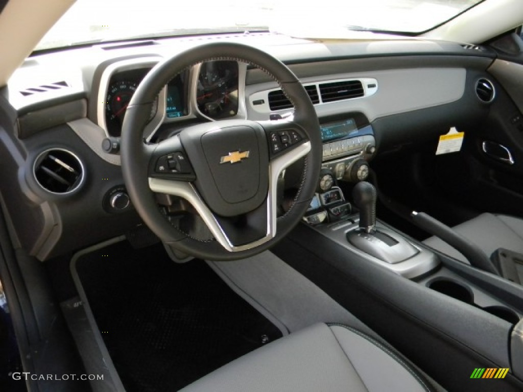 Gray Interior 2012 Chevrolet Camaro Lt Rs Coupe Photo
