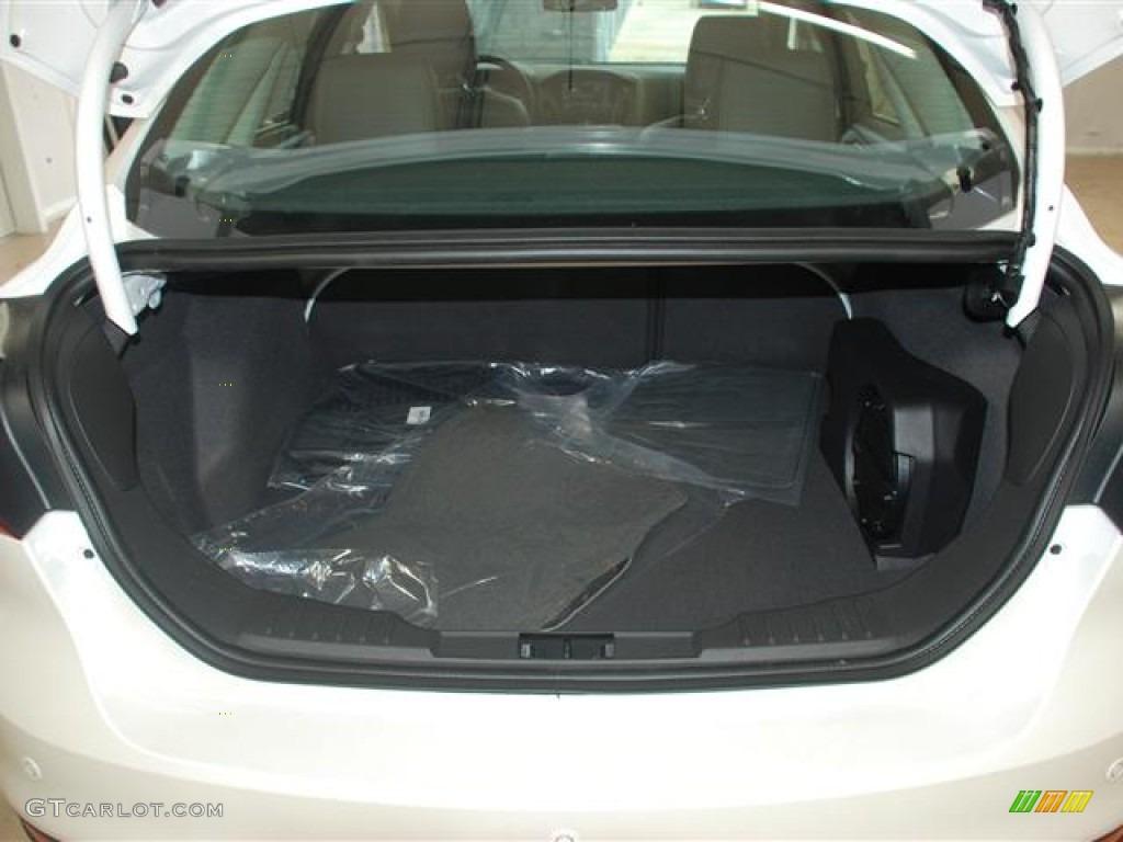 2012 Ford Focus Fuse Box In Trunk : Ford focus titanium sedan trunk photo