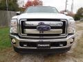 2012 White Platinum Metallic Tri-Coat Ford F250 Super Duty Lariat Crew Cab 4x4  photo #2