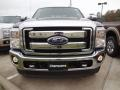 2012 Autumn Red Metallic Ford F250 Super Duty Lariat Crew Cab 4x4  photo #2