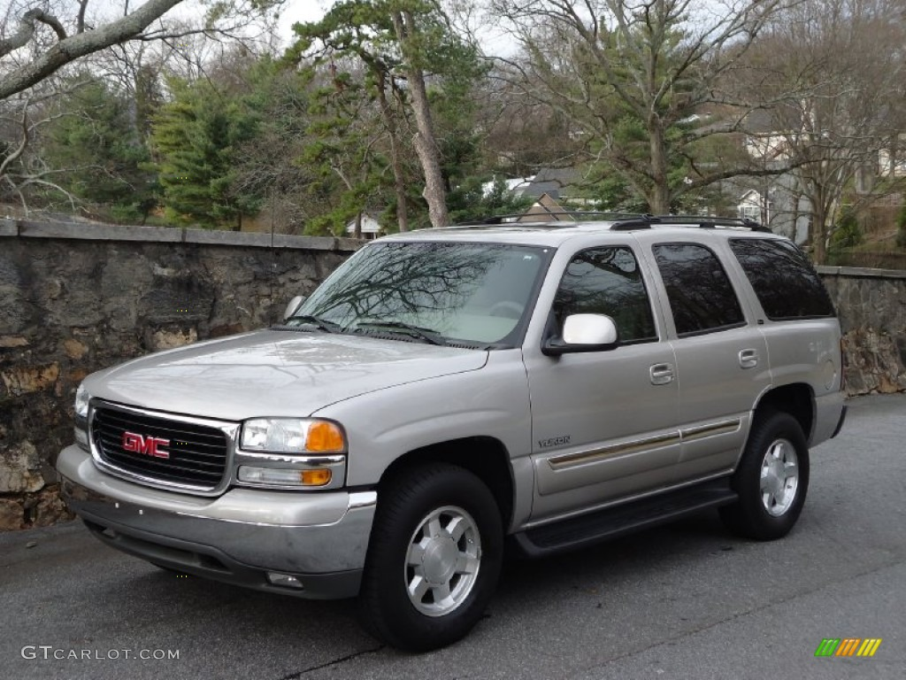 Silver birch metallic 2004 gmc yukon sle exterior photo 58701884