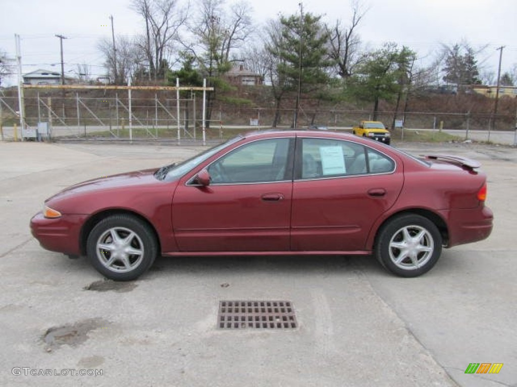 Ruby red 2002 oldsmobile alero gl sedan exterior photo for 2002 oldsmobile alero window regulator