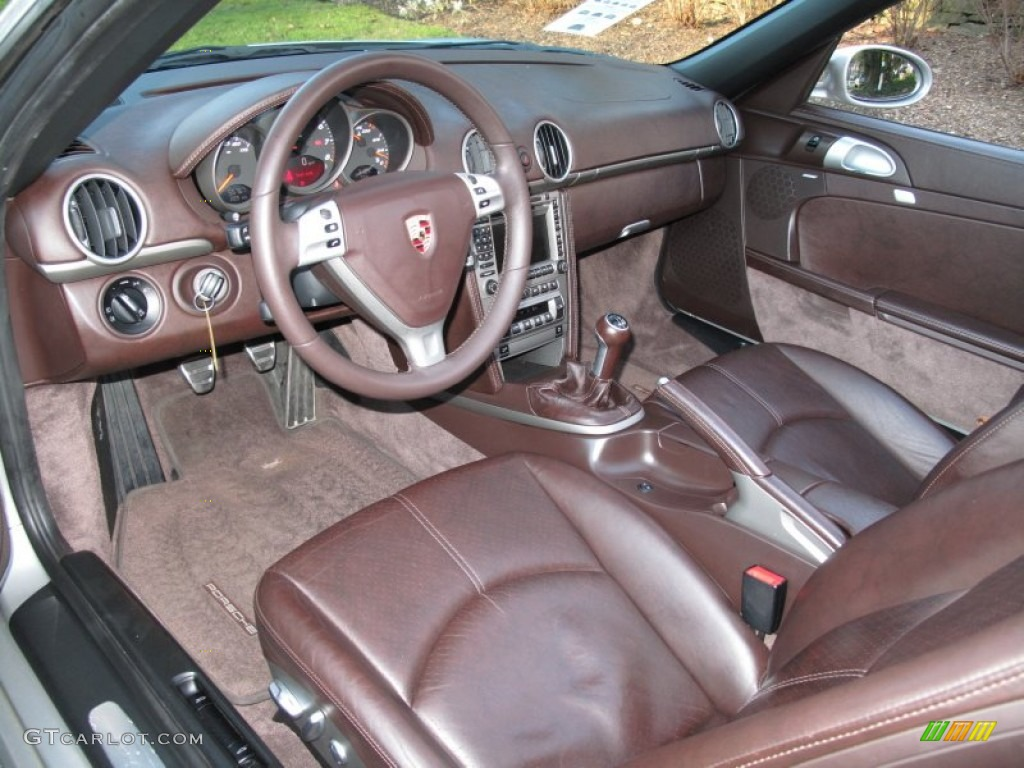 cocoa brown interior 2005 porsche boxster standard boxster model photo 58706390. Black Bedroom Furniture Sets. Home Design Ideas
