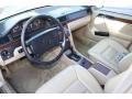 1991 E Class 300 E Sedan Parchment Interior