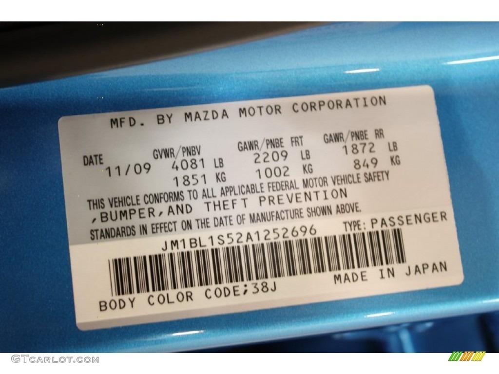 Mazda  Sport Paint Code