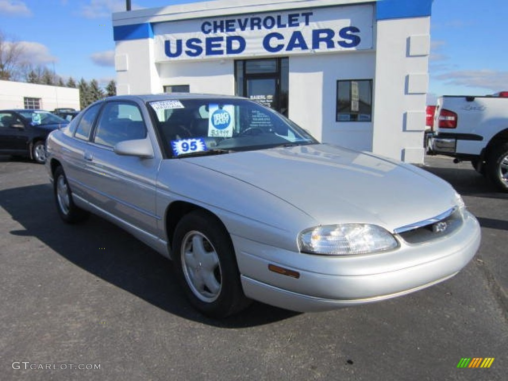 1995 silver metallic chevrolet monte carlo ls coupe 58700684 gtcarlot com car color galleries gtcarlot com