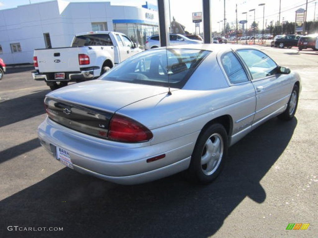 1995 silver metallic chevrolet monte carlo ls coupe 58700684 photo 7 gtcarlot com car color galleries gtcarlot com