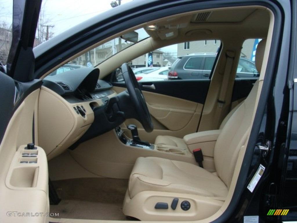 Cornsilk Beige Interior 2009 Volkswagen Passat Komfort Wagon Photo 58734327