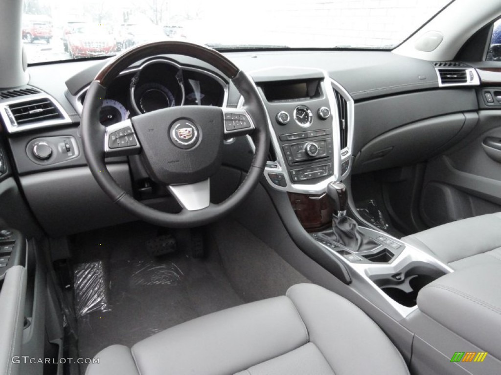 Titanium Ebony Interior 2012 Cadillac Srx Luxury Photo 58741923
