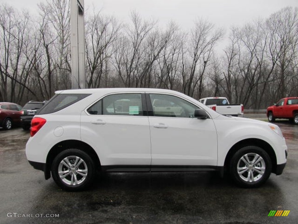 Summit White 2012 Chevrolet Equinox LS AWD Exterior Photo ...