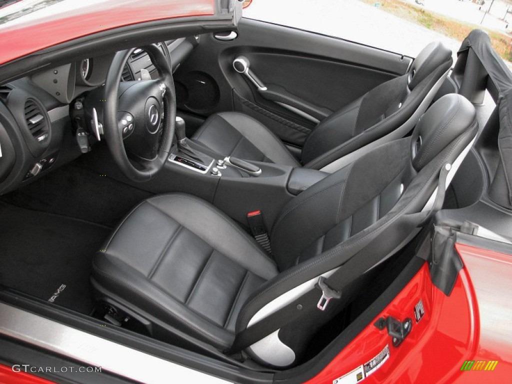 Black interior 2007 mercedes benz slk 55 amg roadster for 2007 mercedes benz slk 280 specs