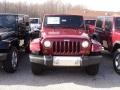 2012 Deep Cherry Red Crystal Pearl Jeep Wrangler Sahara 4x4  photo #1
