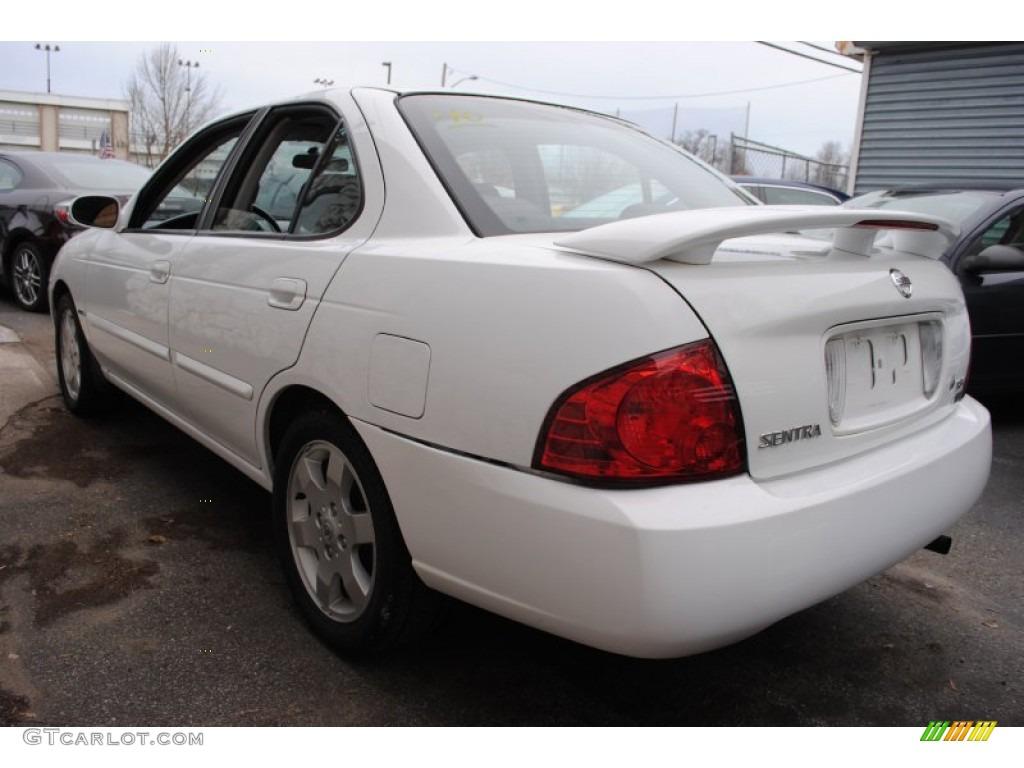 2005 cloud white nissan sentra 1 8 s special edition 58724915 photo 3 car. Black Bedroom Furniture Sets. Home Design Ideas