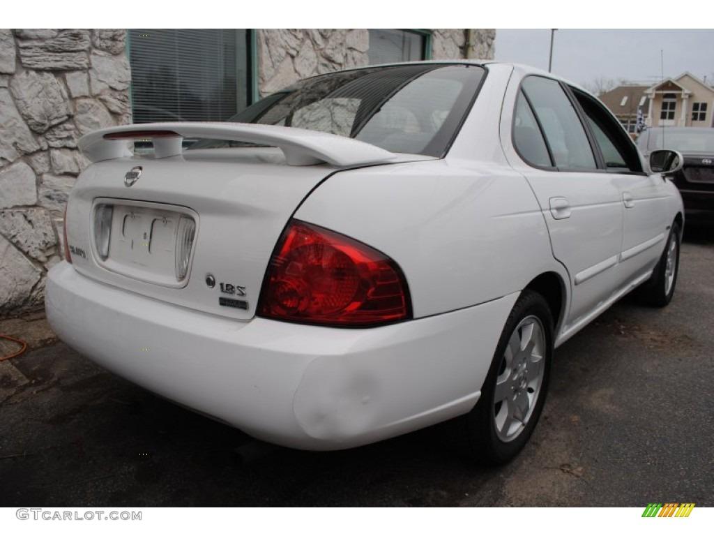 2005 cloud white nissan sentra 1 8 s special edition 58724915 photo 4 car. Black Bedroom Furniture Sets. Home Design Ideas