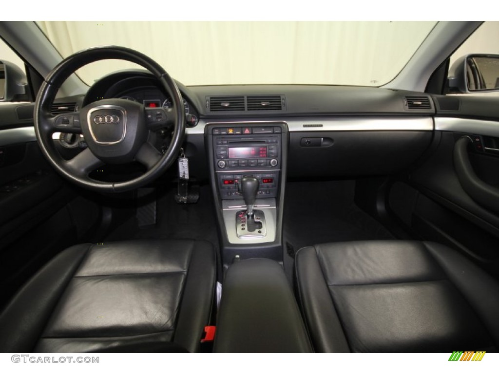 2007 audi a4 2.0t quattro sedan ebony dashboard photo #58781769