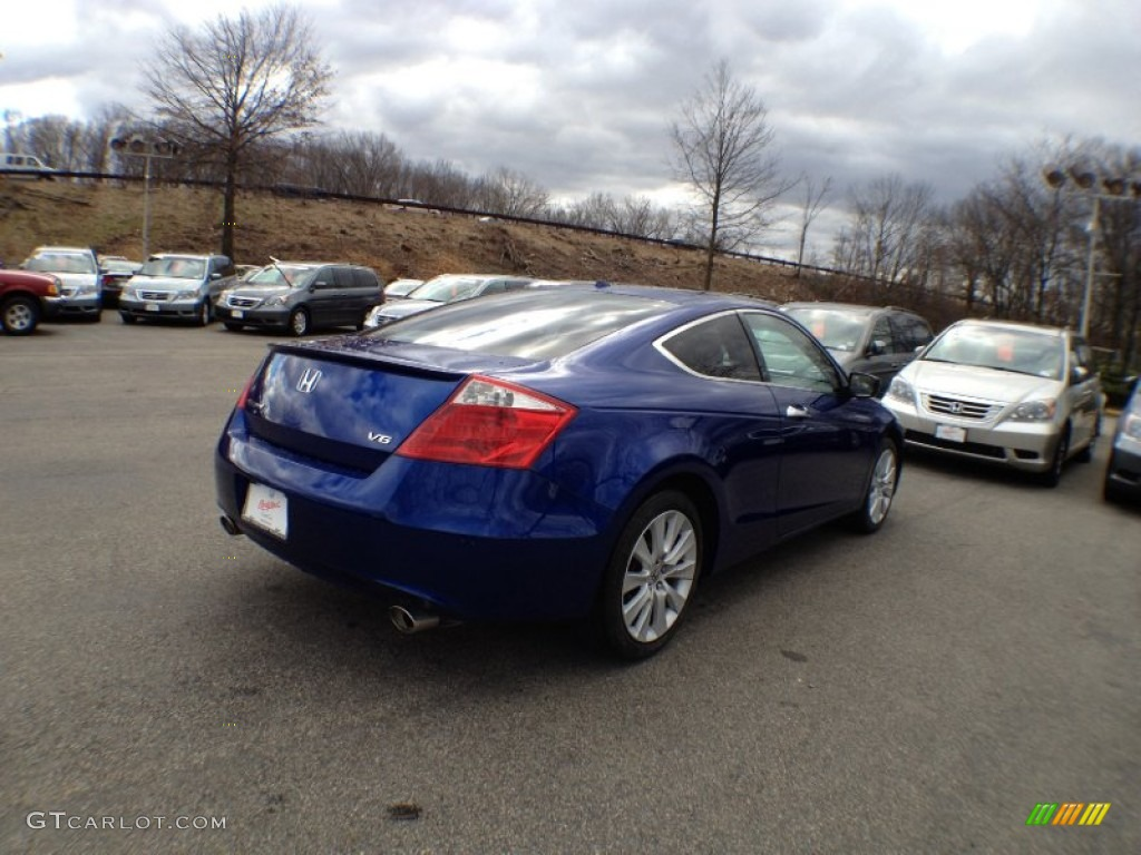 2010 belize blue pearl honda accord ex l v6 coupe for Honda accord ex l v6