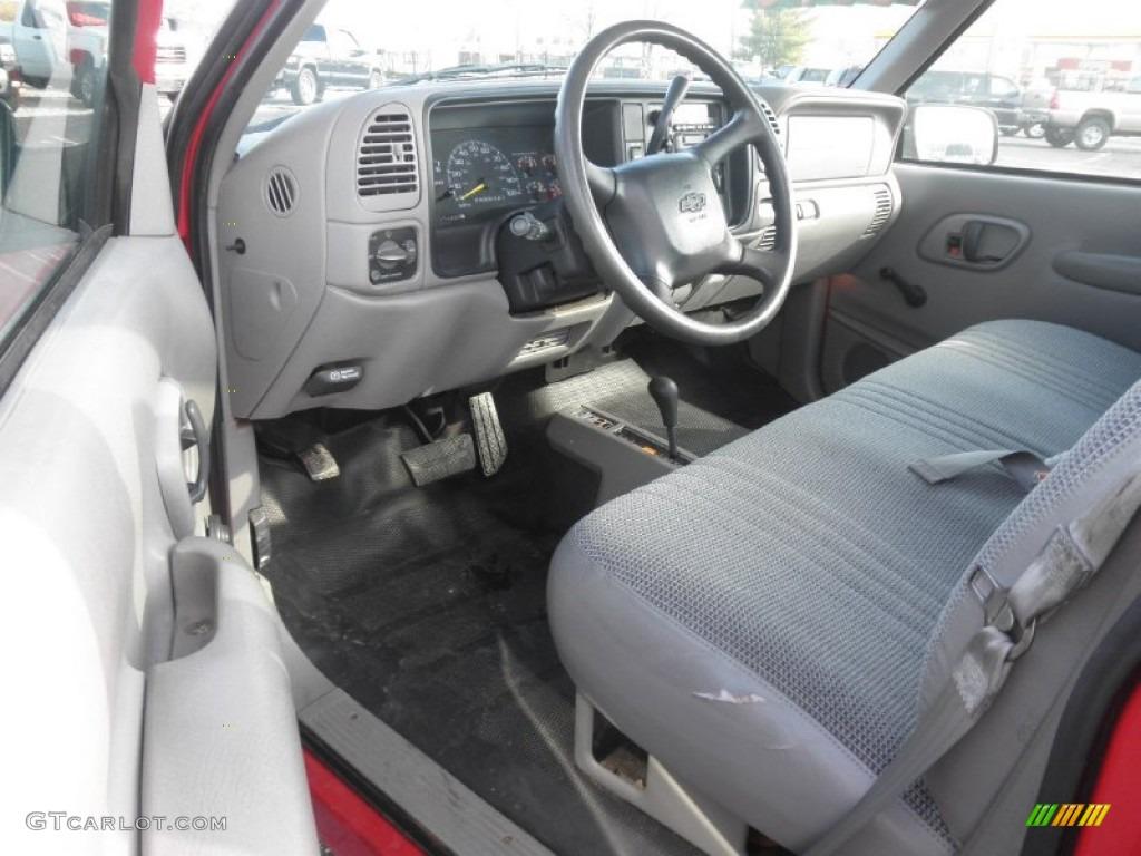 Gray Interior 1998 Chevrolet C K K1500 Regular Cab 4x4 Photo 58795659