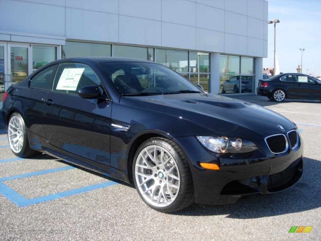 Jerez Black Metallic 2012 Bmw M3 Coupe Exterior Photo