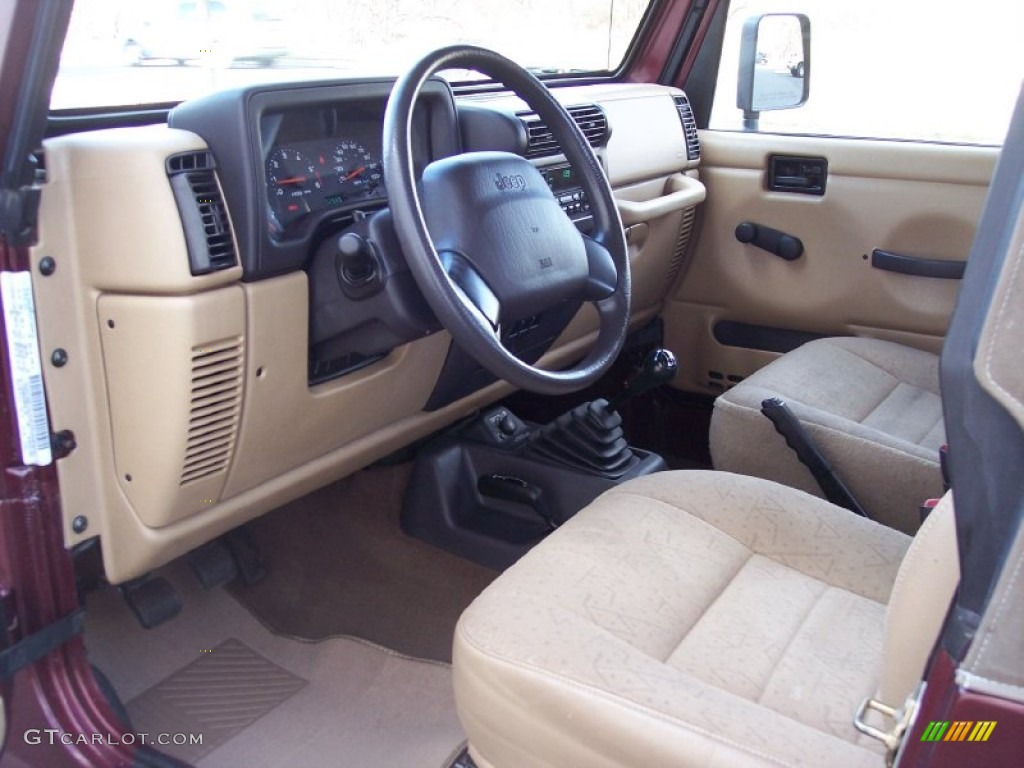 2001 jeep wrangler se 4x4 interior photo 58799064