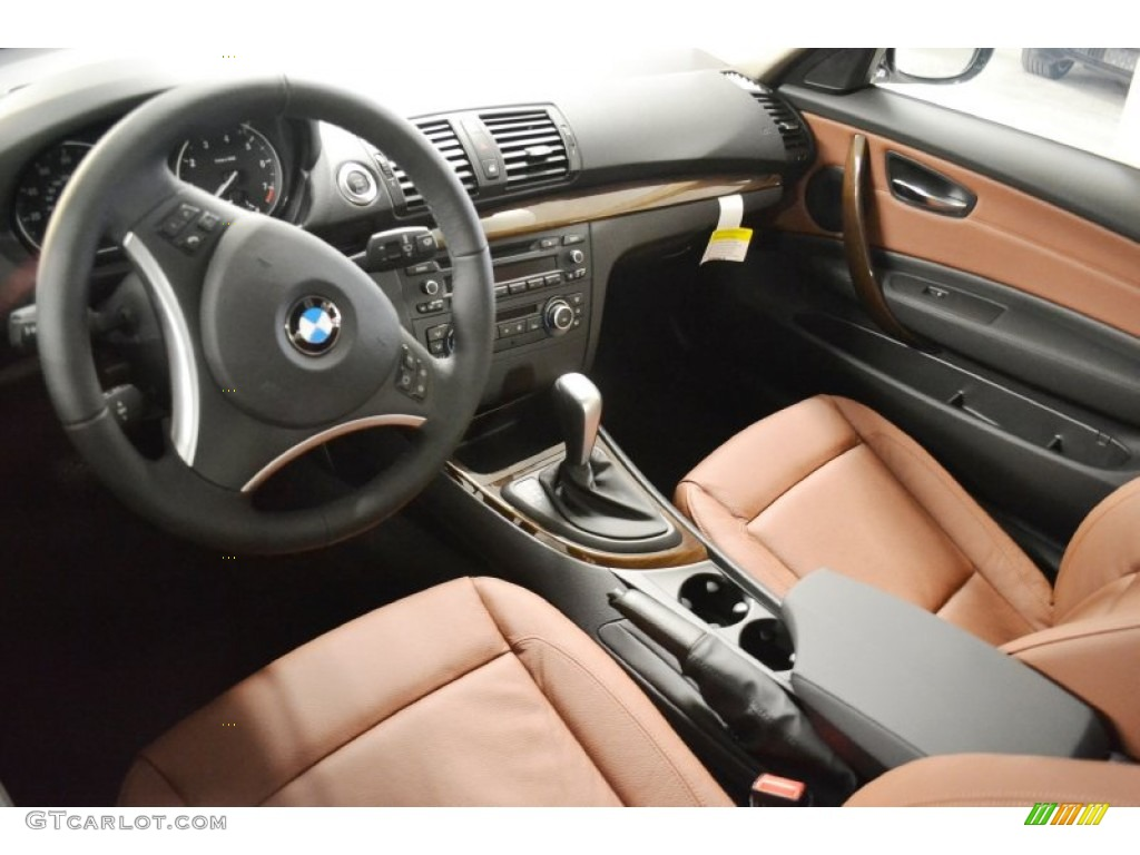 Terracotta Interior 2012 BMW 1 Series 128i Coupe Photo 58805267