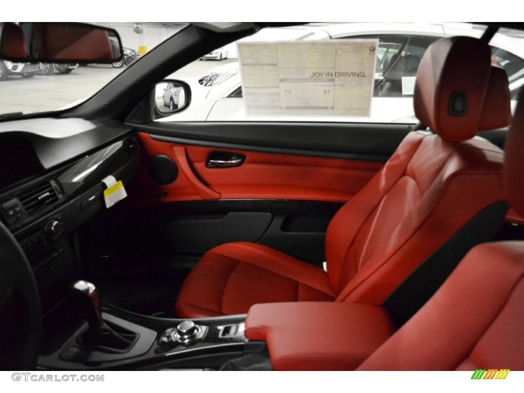 Coral Red Black Interior 2012 Bmw 3 Series 328i Convertible Photo 58806975