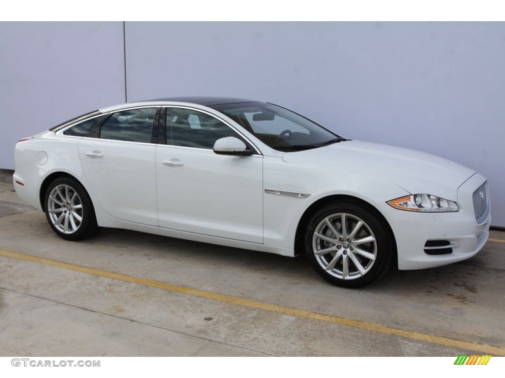 Polaris white 2012 jaguar xj xj exterior photo 58811785 for Jaguar xj exterior