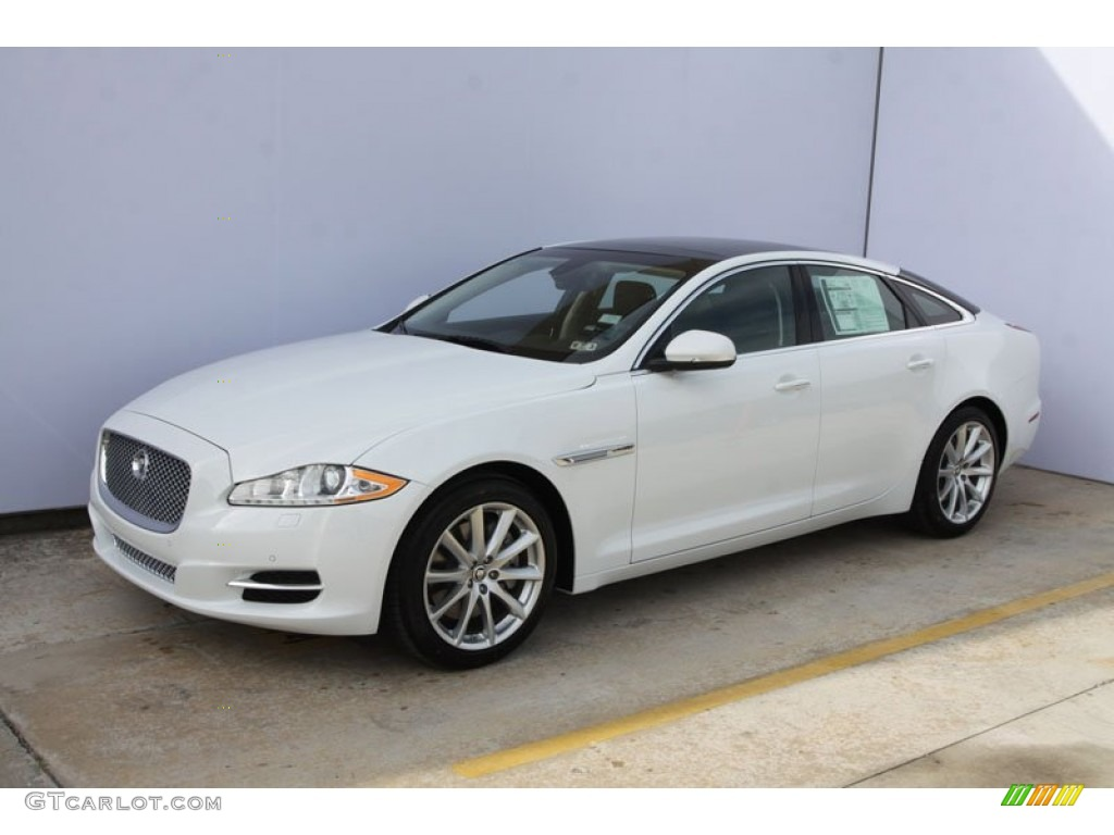 Polaris white 2012 jaguar xj xj exterior photo 58811880 for Jaguar xj exterior